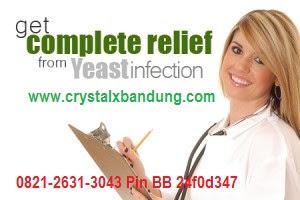 Jual Crystal X Obat Keputihan Gatal, Perih dan Berbau Tak Sedap