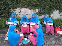 jilbab segi empat sausan hijab