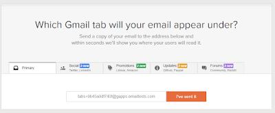 litmus which gmail tab test tool