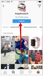 Cara Follow/Unfollow Instagram Hashtags di iPhone dan iPad, Begini caranya