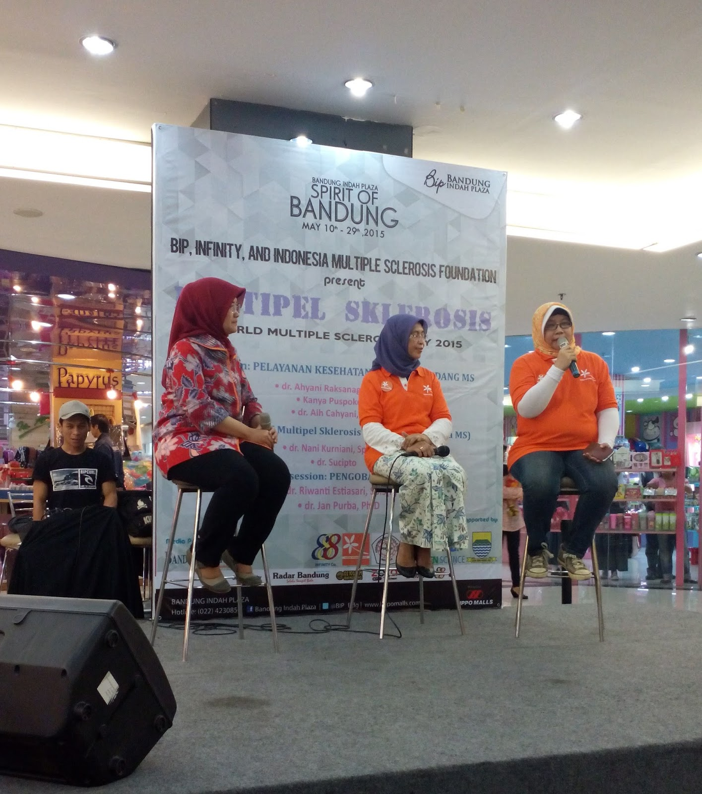 Talkshow About Ms Pict Taken By Writer