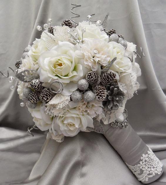 Winter Wedding Fl Bouquets