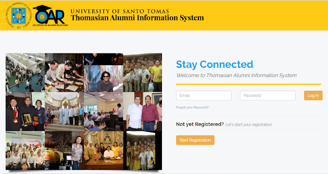 UST Alumni Information System