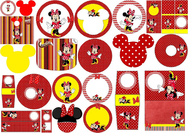 Strange Minnie In Red And Polka Dots Free Printable Candy Buffet Download Free Architecture Designs Scobabritishbridgeorg