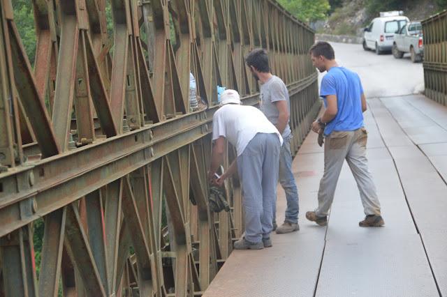 Γιάννενα: Ανάσα ζωής στη γέφυρα Μπέλεϊ Πλάκας