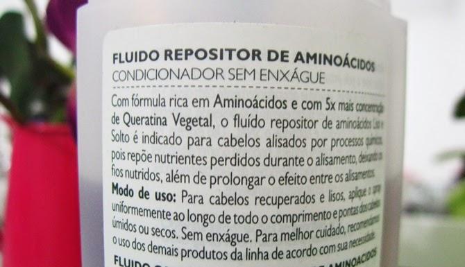 Fluido Repositor de Aminoácidos