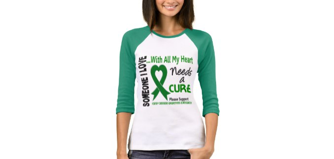 T-shirt: Kidney disease needs a cure