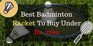 Best Badminton Racket Under 1000 Rupees in India - Cover Image