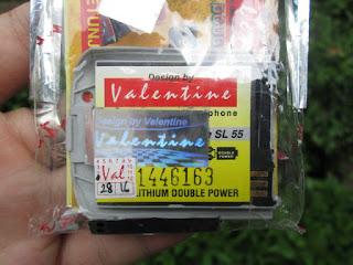 Baterai Valentine Siemens SL55 Jadul Langka