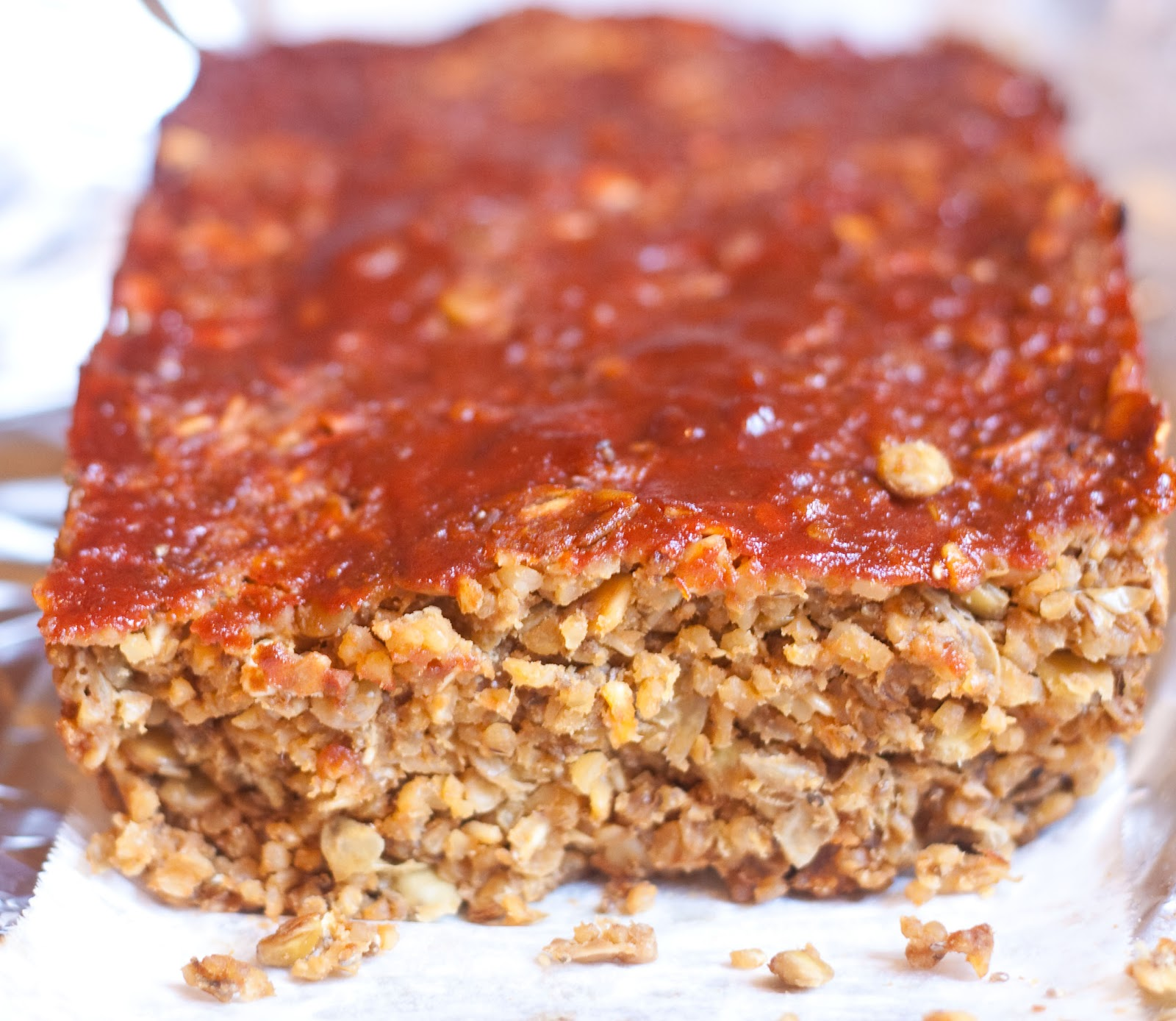 Fat Free Vegan Kitchen: The Fresh Princess Of Bon Air: Vegan Week: Lentil Meatloaf