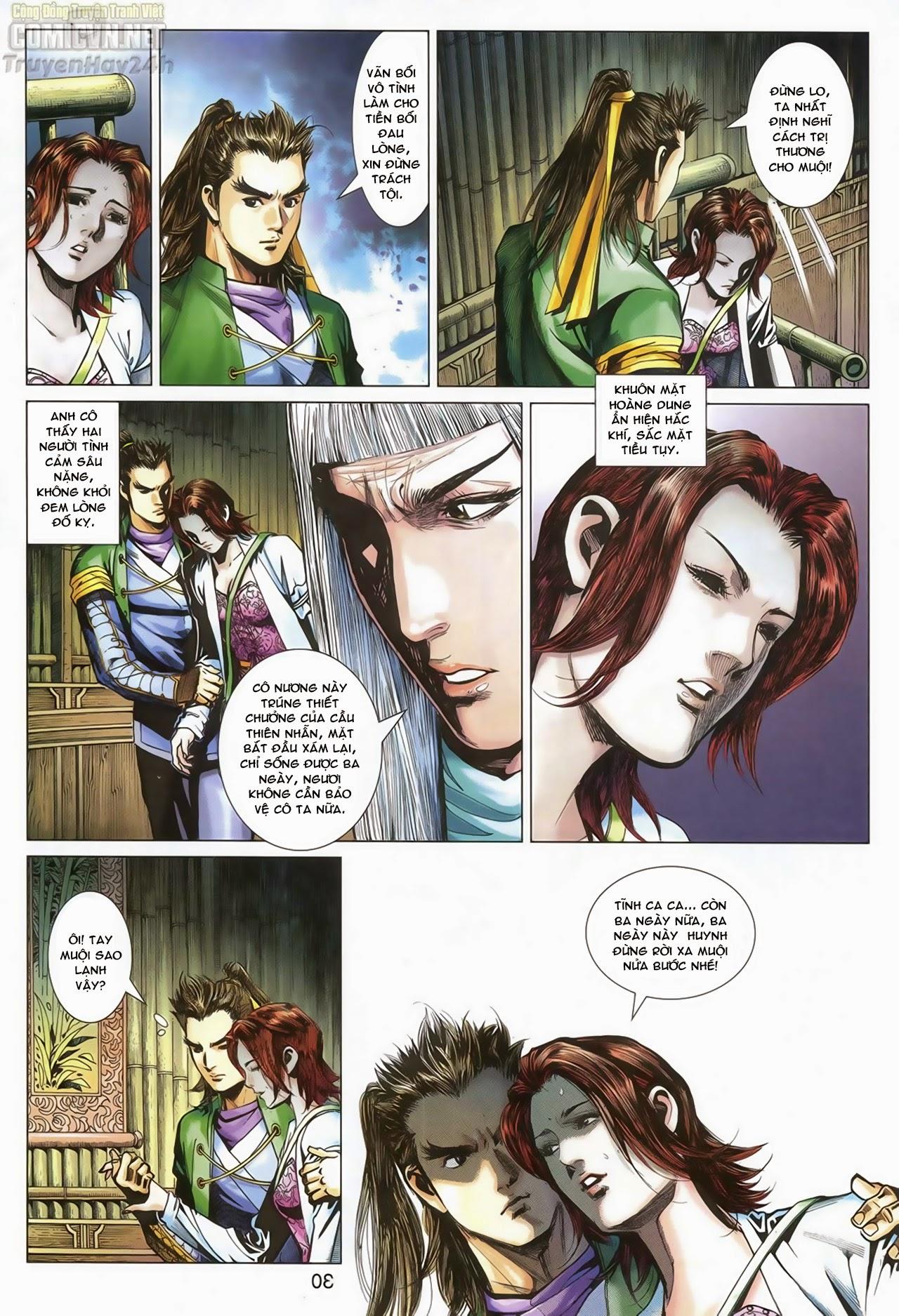 Anh Hùng Xạ Điêu anh hùng xạ đêu chap 70: hắc chiểu ẩn nữ trang 31