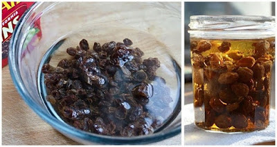 Cleans Your Fatty Liver With Raisin Water Quickly