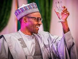 Buhari happy