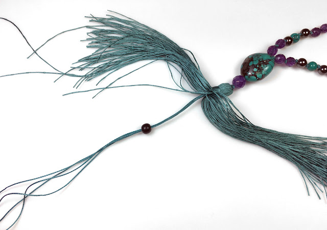 Mala with Tassel - DIY Instructions