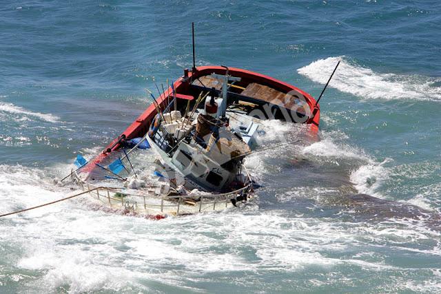Ναυτική τραγωδία ανοικτά της Αίγινας