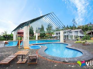 Private Villa Bambu - Villa Istana Bunga Lembang (Rumah Hunian yang Kondusif untuk Refreshing)