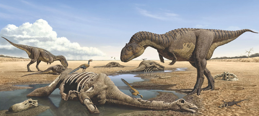 fundacion dinosaurios cyl ra l mart n el ilustrador de