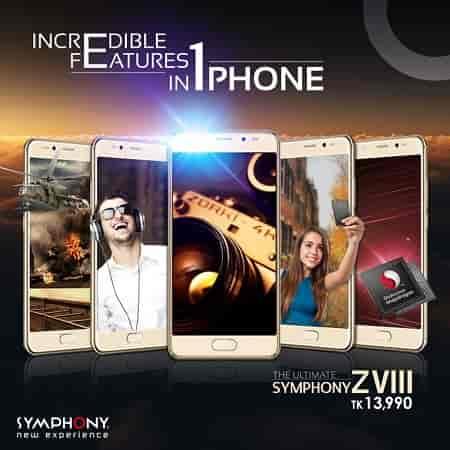 Symphony Launches ZVIII Flagship