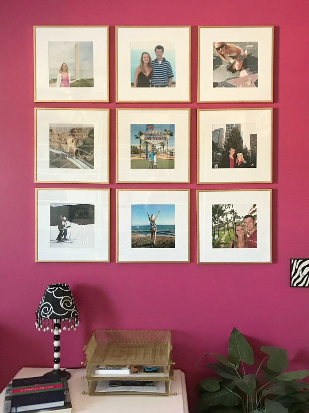 Lindsay\'s Sweet World: New Travel Gallery Wall in My Home Office