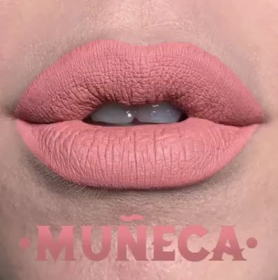 kat von d Everlasting Liquid Lipstick lip swatch muneca