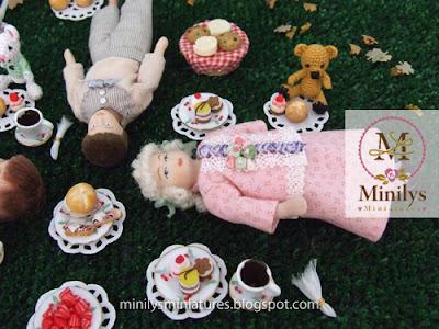 """minilys miniatures"" ""comida"" ""picnic"" 1:12"