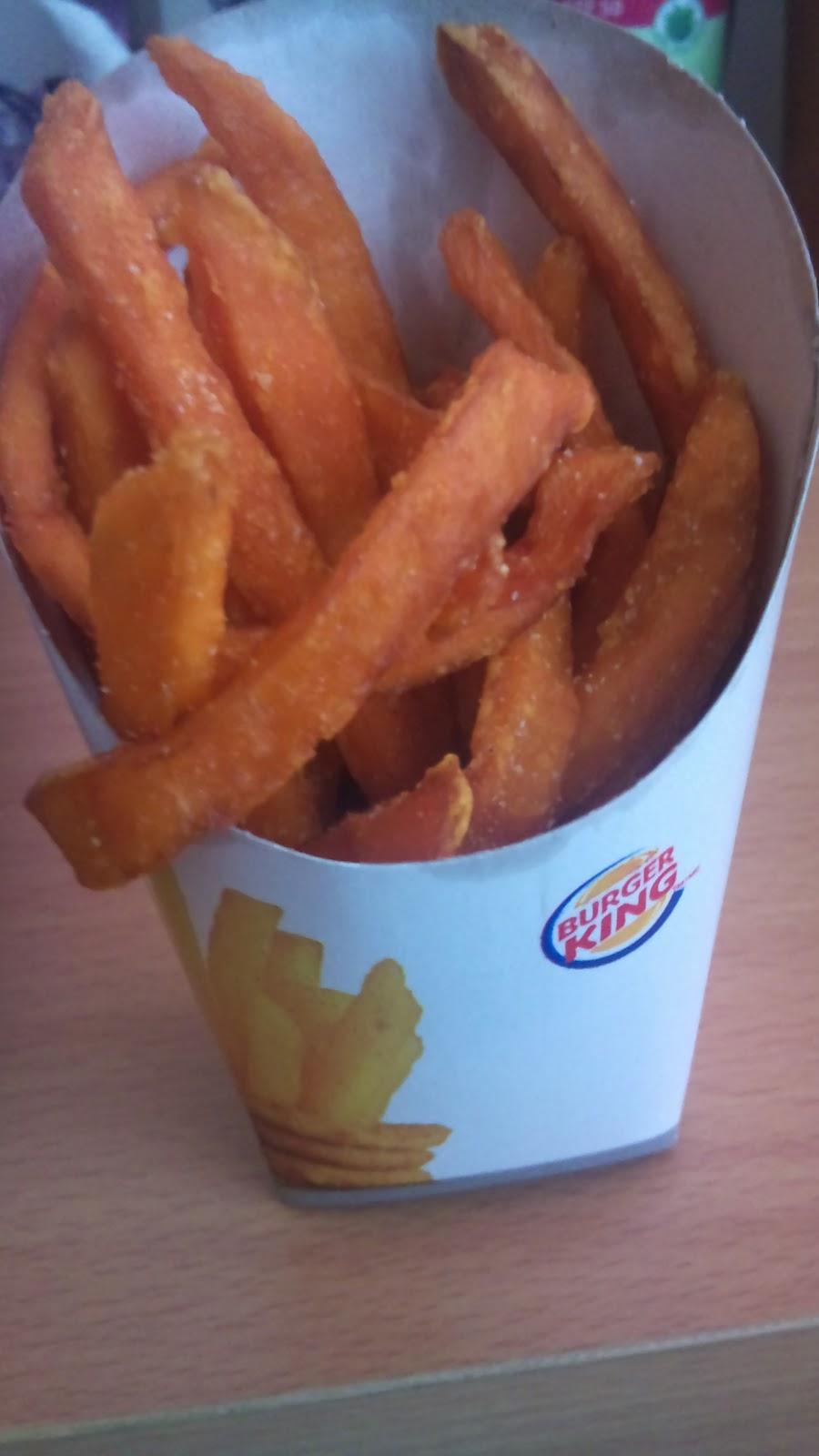 CheapFoodsNYC: NEW Burger King Sweet Potato Fries
