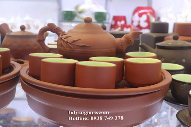 bộ bình trà Tử Sa - Bát Tràng