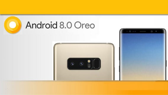 Android Oreo on Galaxy S8/+ and Note 8