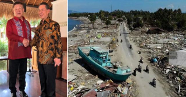 VIRAL: PROUD BA KAYO SA ATING PANGULO? - 16Milyon Tulong Sa Biktima Ng Tsunami Sa Indonesia, Magbibigay ang PILIPINAS   Trending Balita