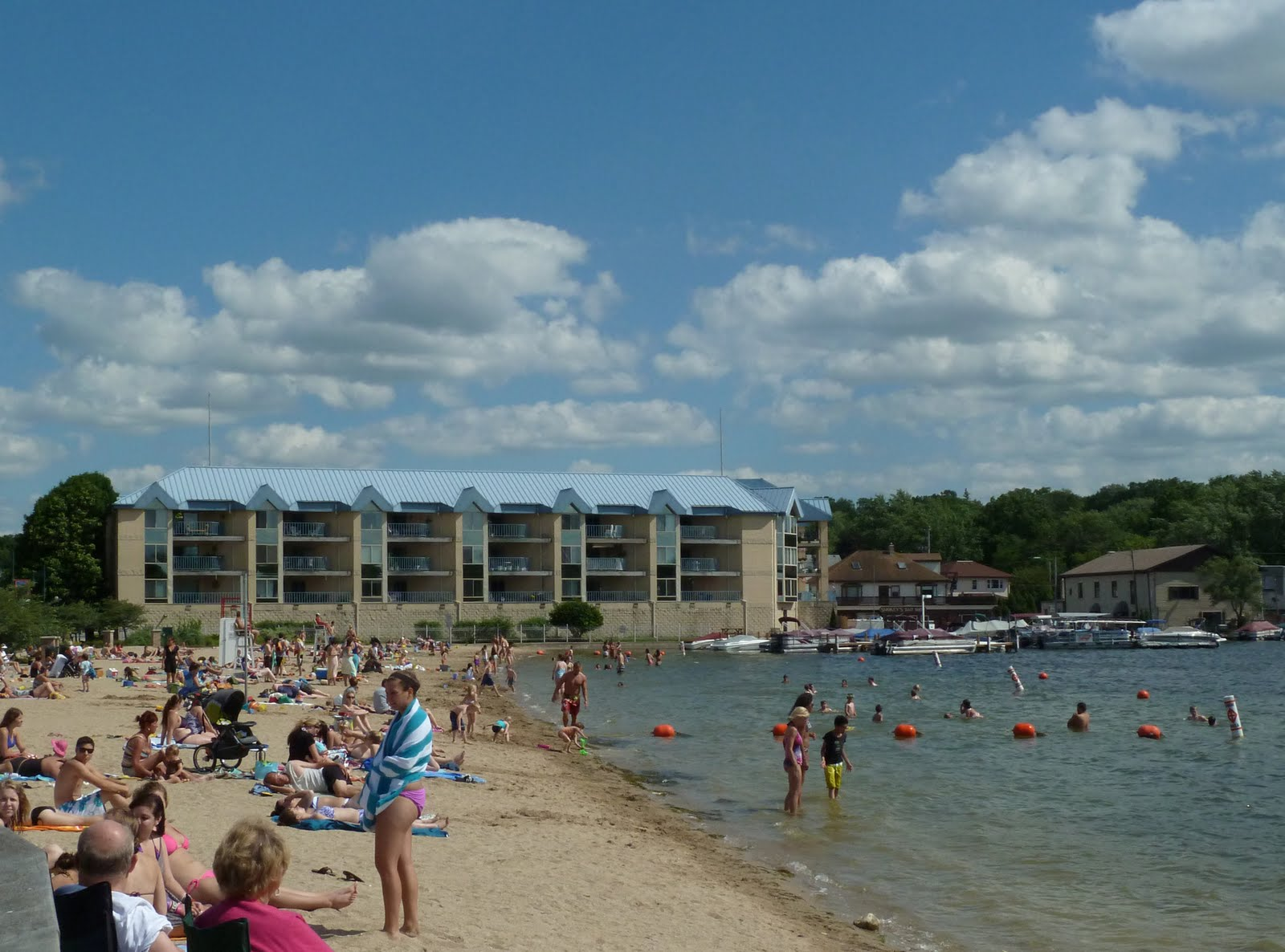 Pewaukee Daily Photo A Day At The Beach