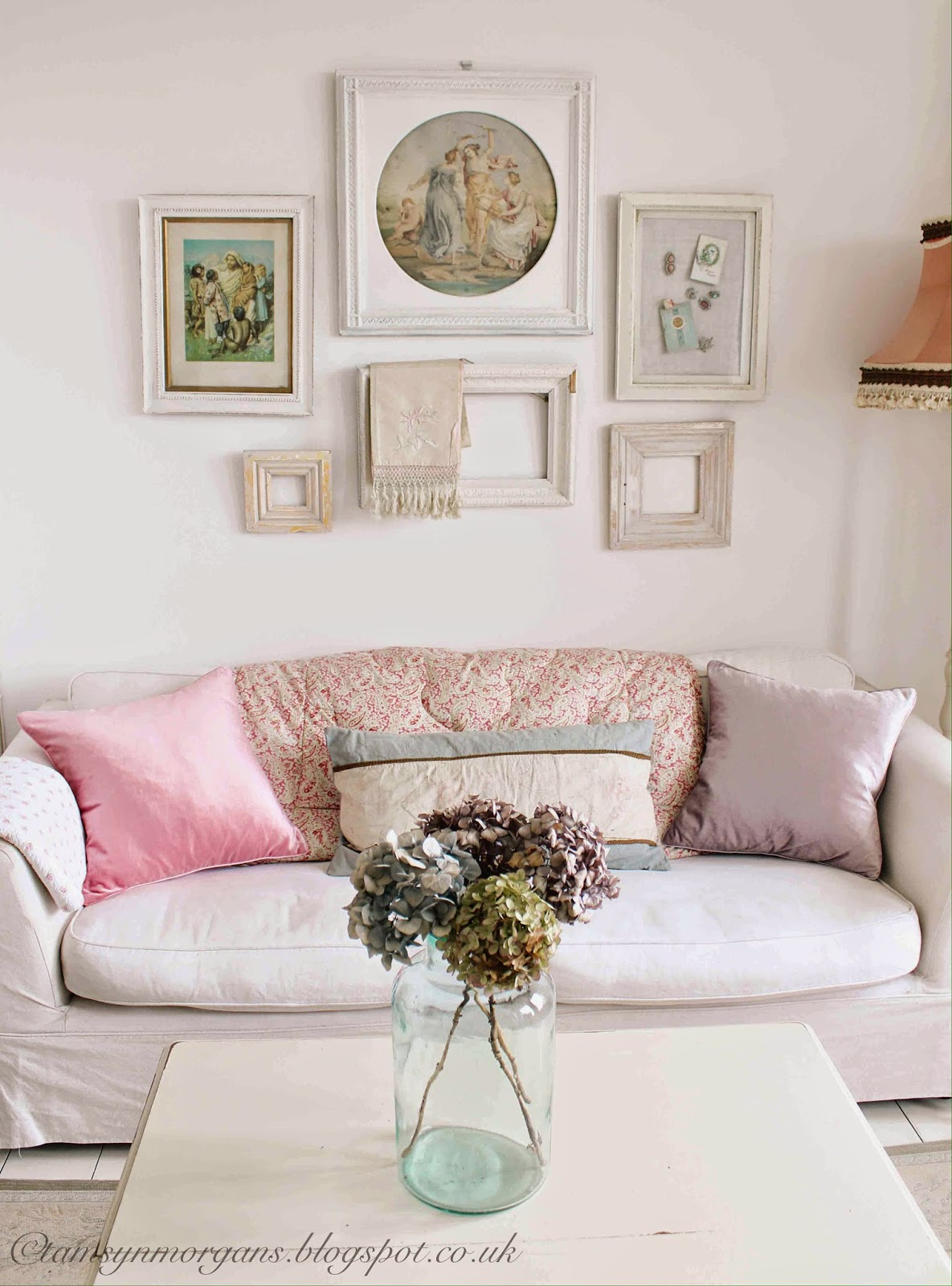 Pastel Laura Ashley Cushions The Villa On Mount Pleasant