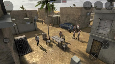 Download Zombie Combat Simulator v1.0.8 MOD APK + DATA OBB for Android Hack Terbaru 2017