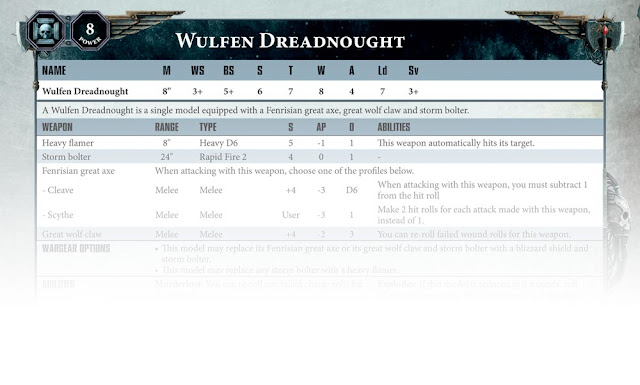 Dreadnought Wulfen