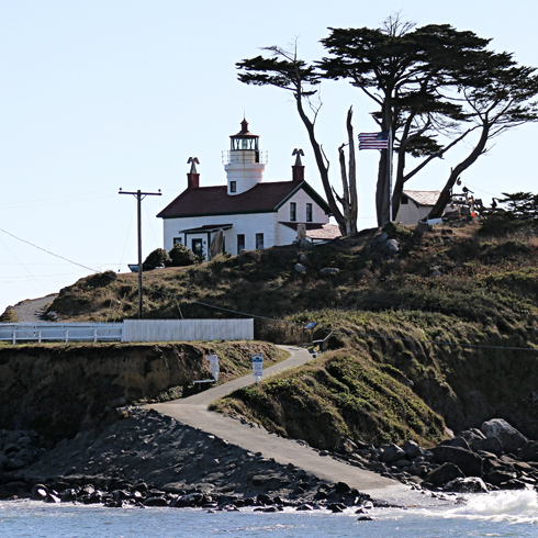 Battery Point Lighthouse Crescent City California