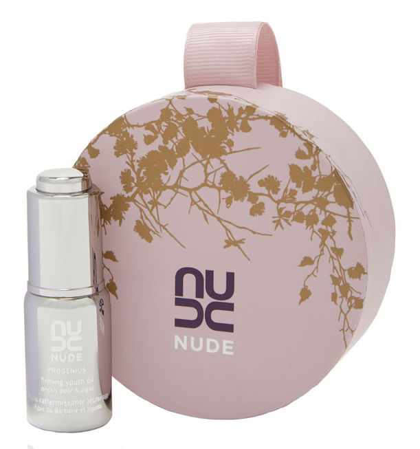 Nude Liquid Gold Christmas Bauble