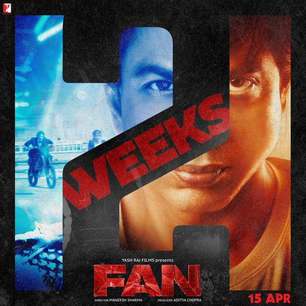 full cast and crew of Shahrukh Khan bollywood movie Fan! wiki, Fan film story, poster, trailer ft Shahrukh Khan hit or flop movie, fun release date 15 April 2016