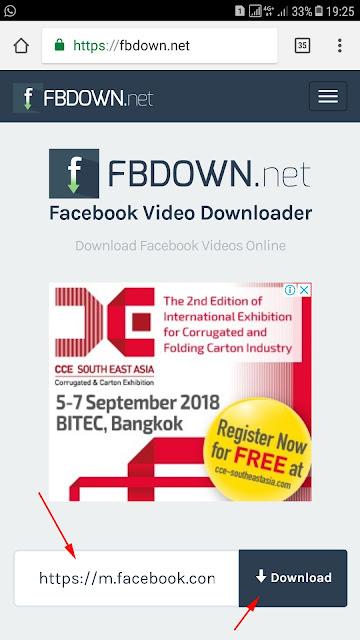 Cara Download Video Facebook Tanpa Aplikasi di Android 3