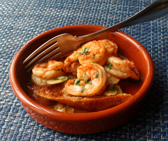 Food Wishes Video Recipes Spanish Garlic Shrimp Gambas Al Ajillo Top Of The Tapas