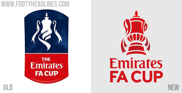 All New Emirates Fa Cup Logo Launched Includes Small Number For Titles Won Footy Headlines