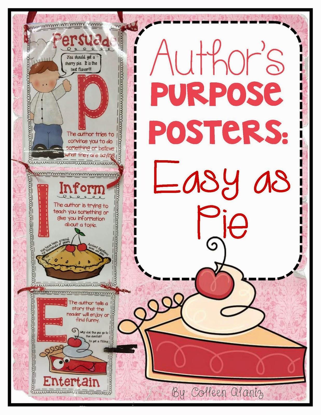 http://www.teacherspayteachers.com/Product/Authors-Purpose-Easy-as-PIE-1319169