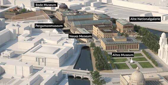 Los museos de la isla de los museos en Berlin