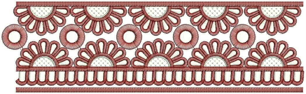 Embdesigntube Indian Saree Border Embroidery Designs