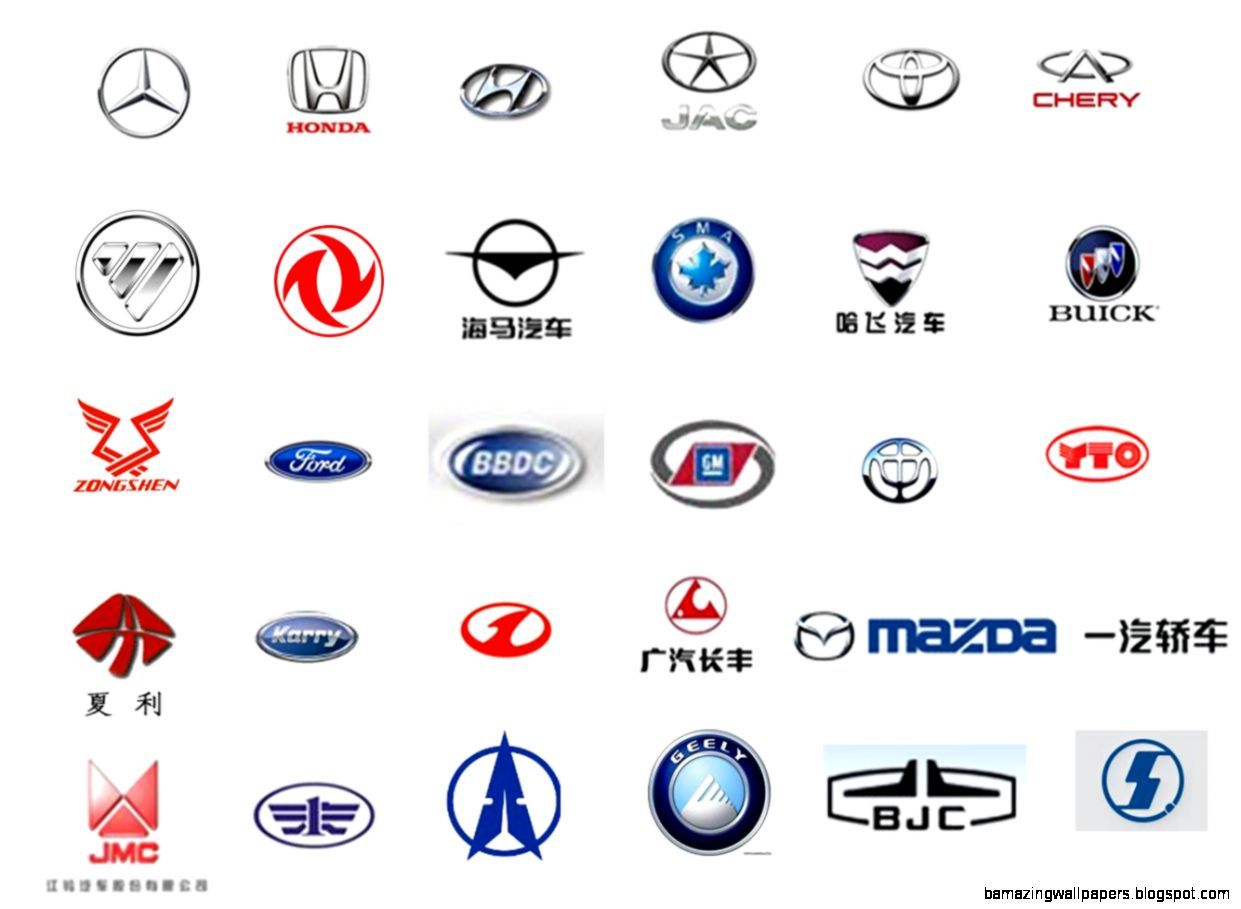 Chinese Car Company Logos | Wallpapers Background