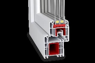 Thanh Nhựa Cao Cấp Aluplast Profile, Cửa Nhựa Aluplast