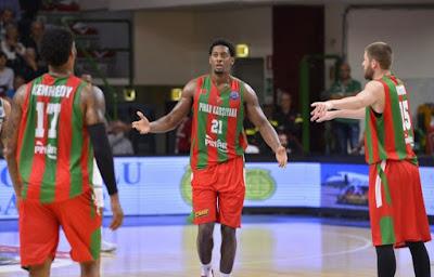 FIBA Champions League Pınar Karşıyaka Jarrod Jones
