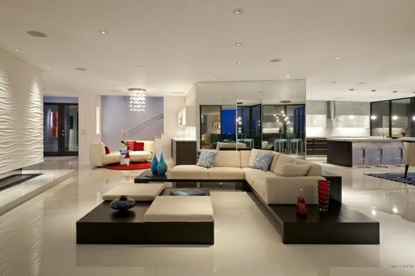 Dise o de salas modernas elegantes colores en casa for Disenos de salas modernas
