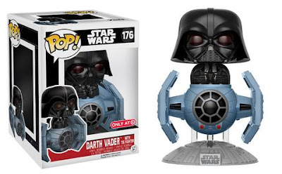 Target Exclusive Star Wars Darth Vader in Tie Fighter Pop! Deluxe Vinyl Figure by Funko