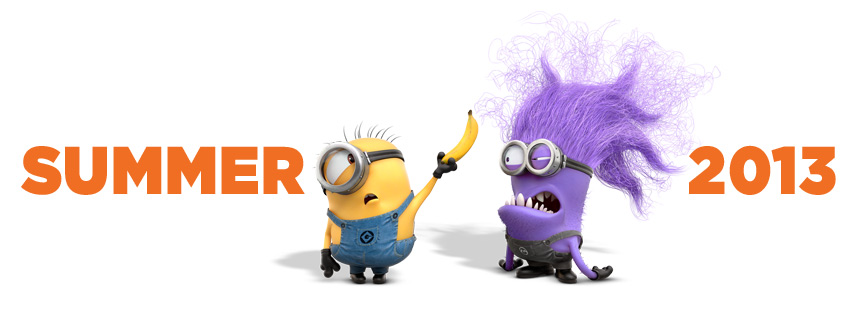 Despicable Me Purple Evil Minions