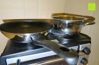 Topf und Pfanne: Andrew James – 23 Liter Mini Ofen und Grill mit 2 Kochplatten in Schwarz – 2900 Watt – 2 Jahre Garantie