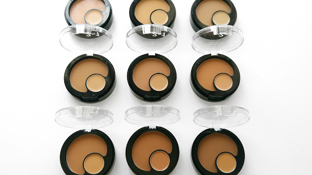 Revlon Colorstay 2 in 1 Compact Makeup and Concealer Review, Revlon Colorstay 2 in 1 Compact Makeup Shade Range